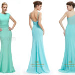 Mint green mermaid bridesmaid dresses