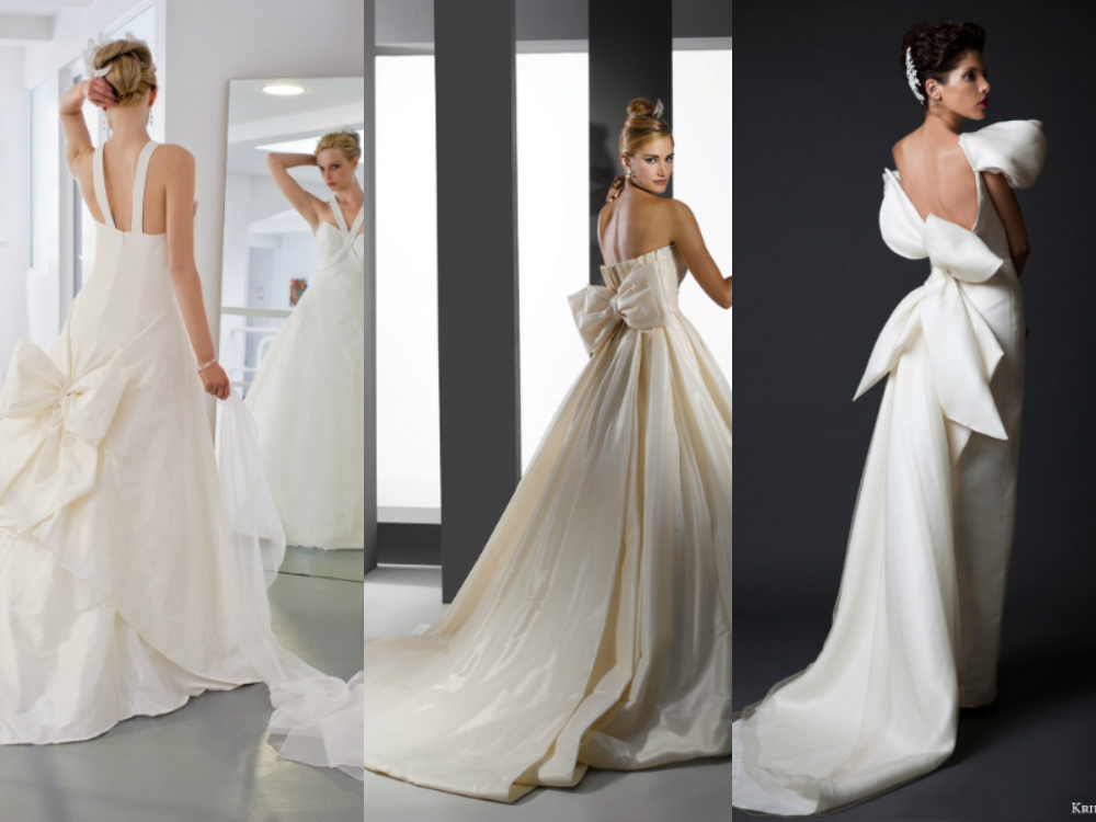 THE TREND:Oversized Bows Gowns